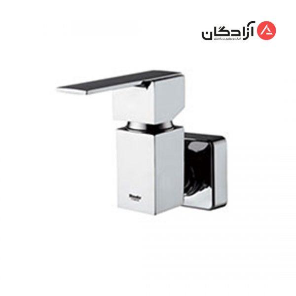 شیر توالت تکی شودر مدل شارپ-کروم