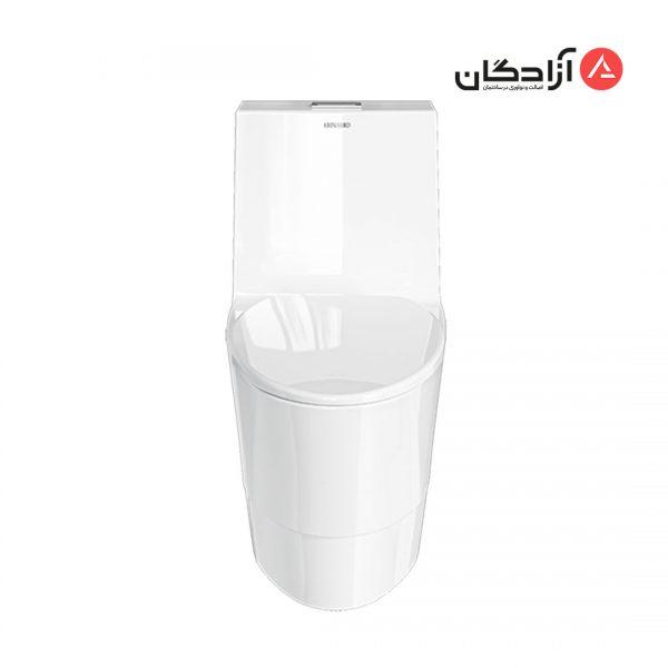 توالت فرنگی چینی کرد مدل فلوریا-2