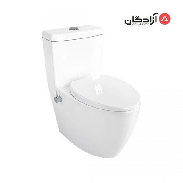 توالت فرنگی چینی کرد مدل آنتوریوم-1