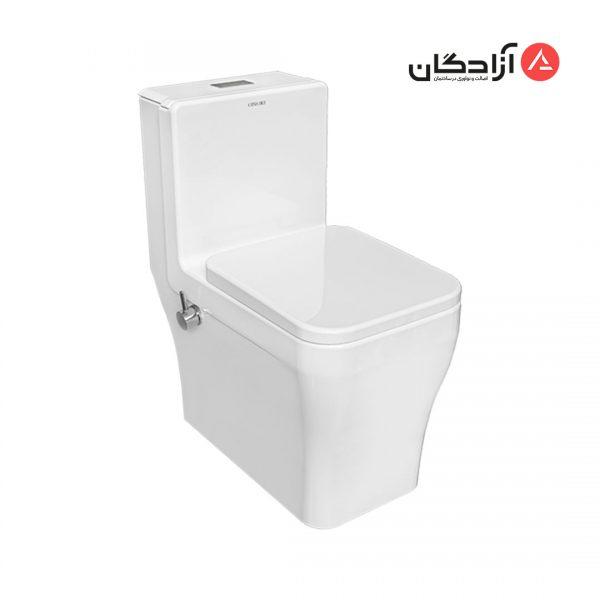 توالت فرنگی چینی کرد مدل آرتا-1