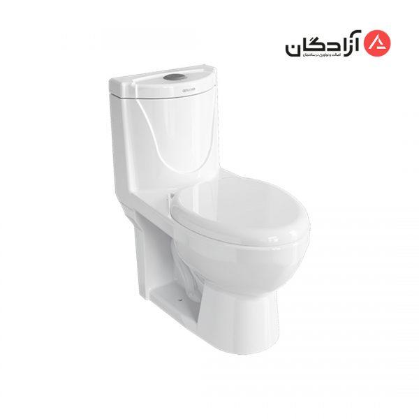 توالت فرنگی چینی کرد مدل دافنه-1
