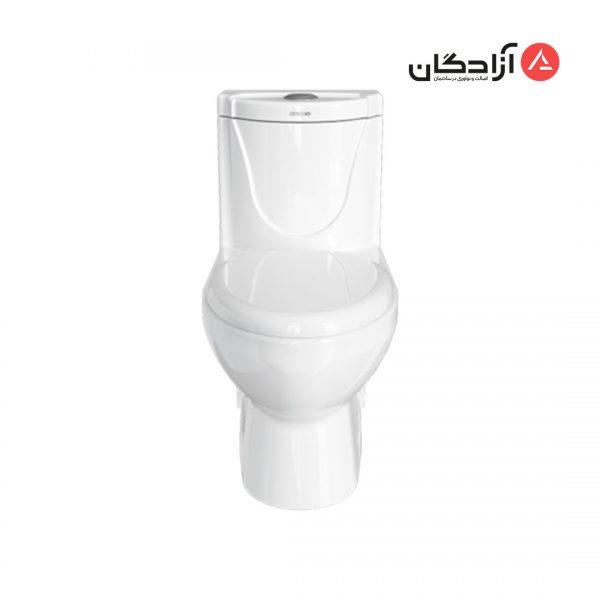 توالت فرنگی چینی کرد مدل دافنه-2