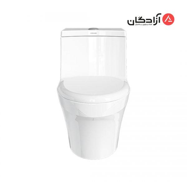 توالت فرنگی چینی کرد مدل هلنا-2