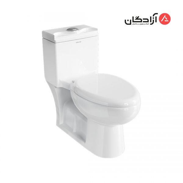 توالت فرنگی چینی کرد مدل لوییزا-1