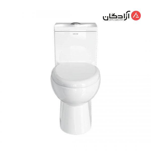توالت فرنگی چینی کرد مدل لوییزا-2