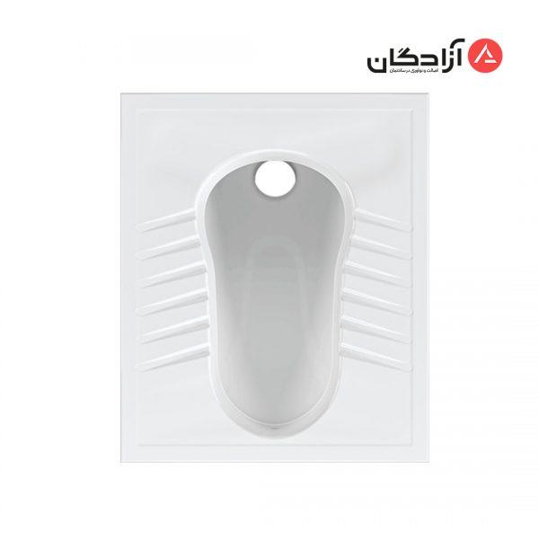 توالت ایرانی چینی کرد مدل آرین ریم بسته-1