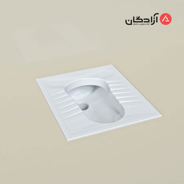 توالت ایرانی چینی کرد مدل آرین ریم بسته-2