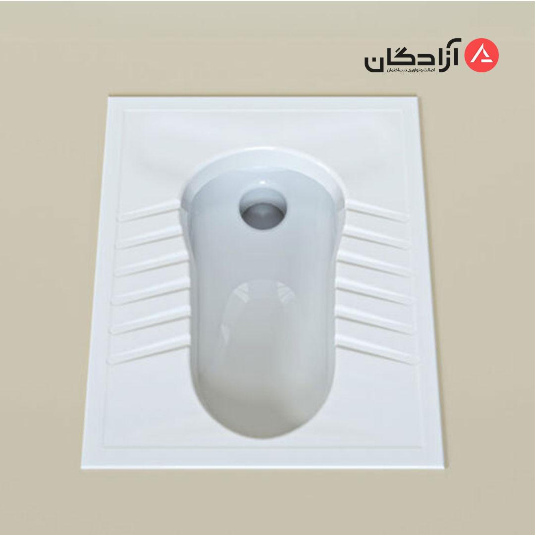 توالت ایرانی چینی کرد مدل آرین ریم بسته-3