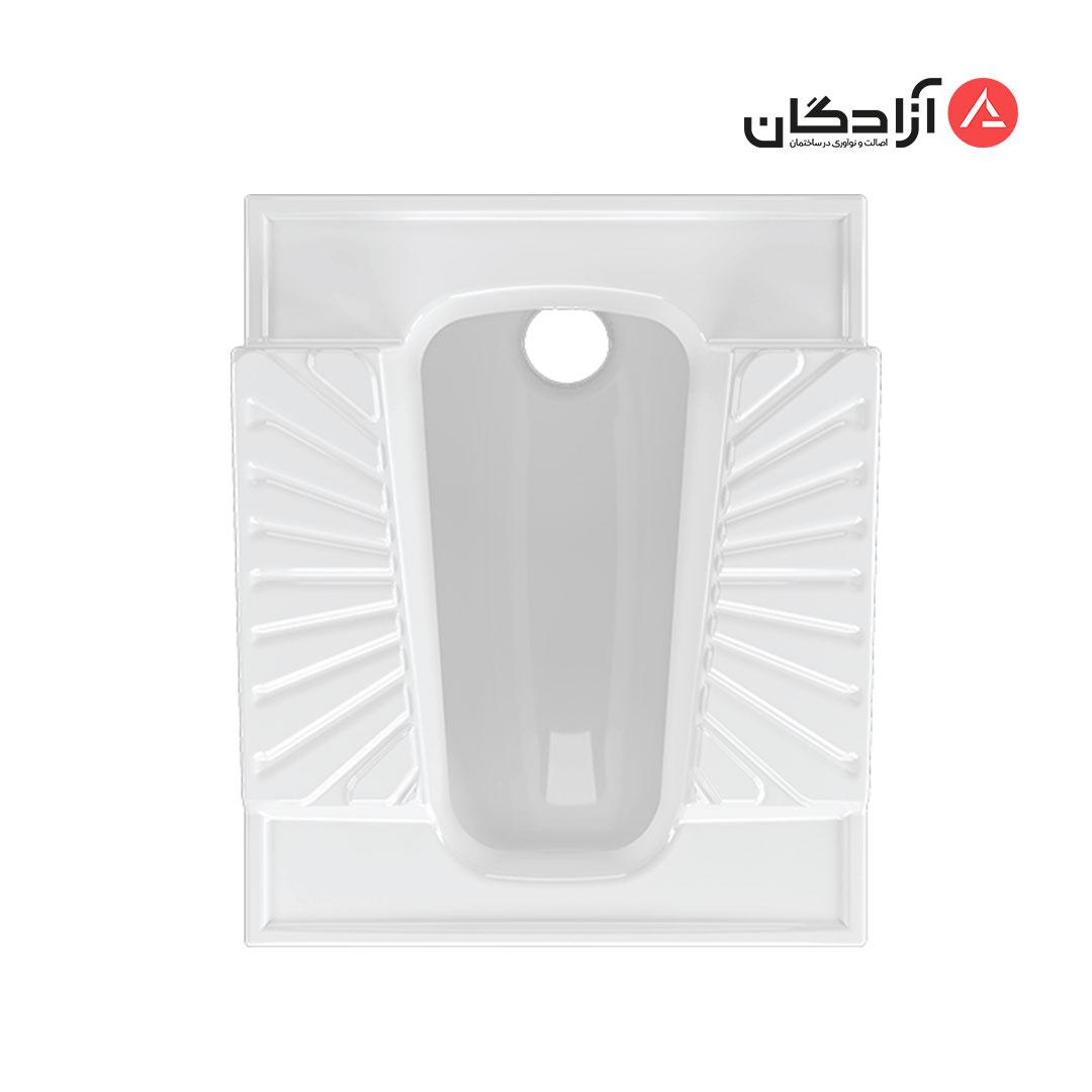 توالت ایرانی چینی کرد مدل اریکا طبی نیم گود-1