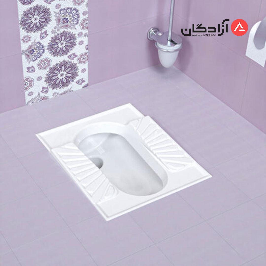 توالت ایرانی چینی کرد مدل اریکا تخت-4