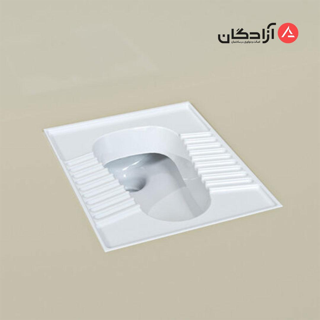 توالت ایرانی چینی کرد مدل تولیپ-2