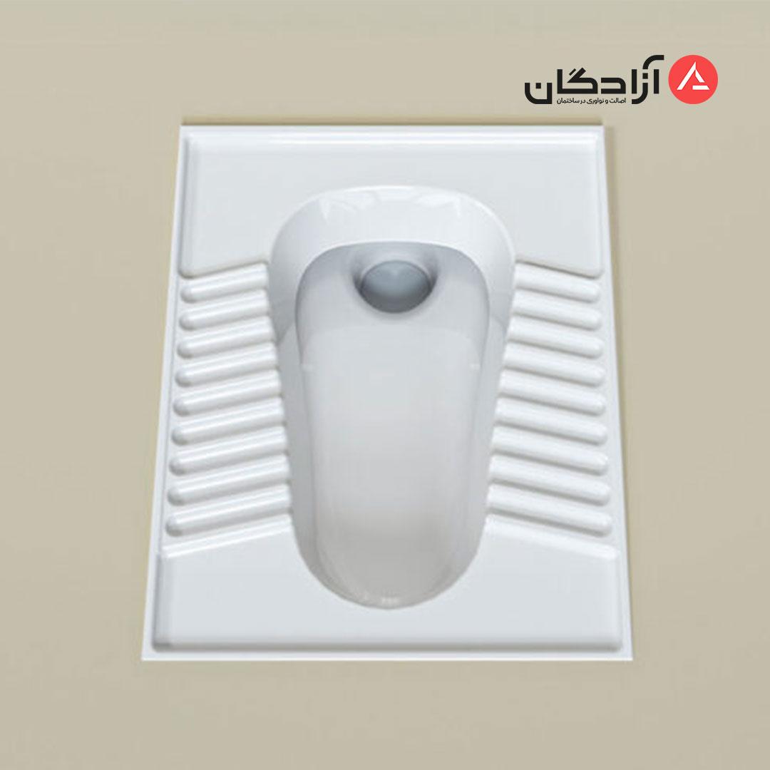 توالت ایرانی چینی کرد مدل تولیپ-3